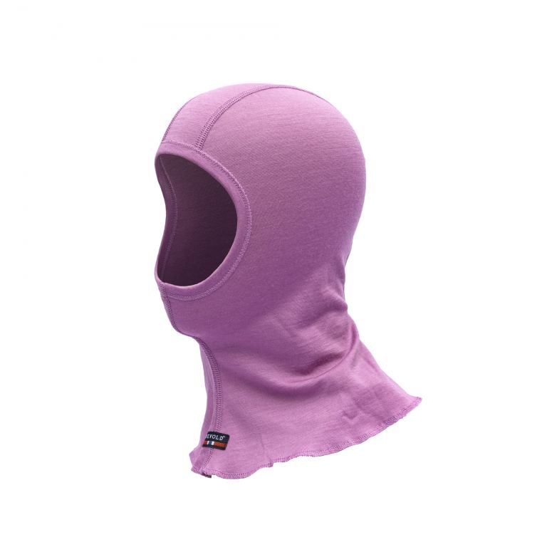 Devold BREEZE KID BALACLAVA iris