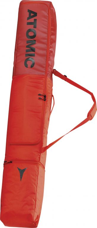 Atomic DOUBLE SKI BAG BRIGHT RED/RD