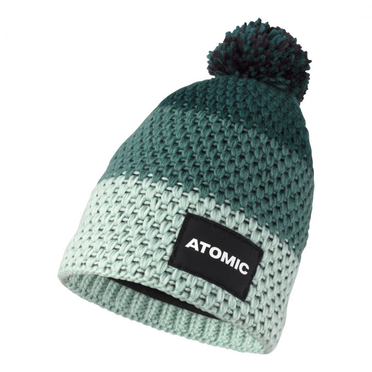 Atomic ALPS KIDS BEANIE-DARK GREEN-MID GREEN-MI