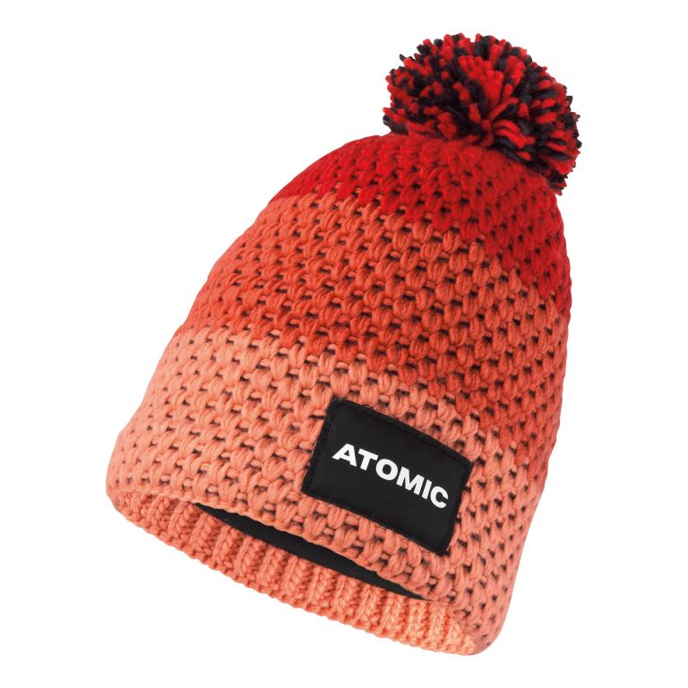 Atomic ALPS KIDS BEANIE-Tomato-Coral-PEACH