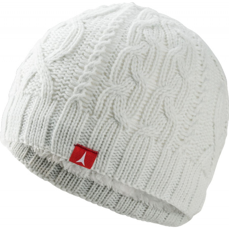 Atomic W AMT CABLE BEANIE white