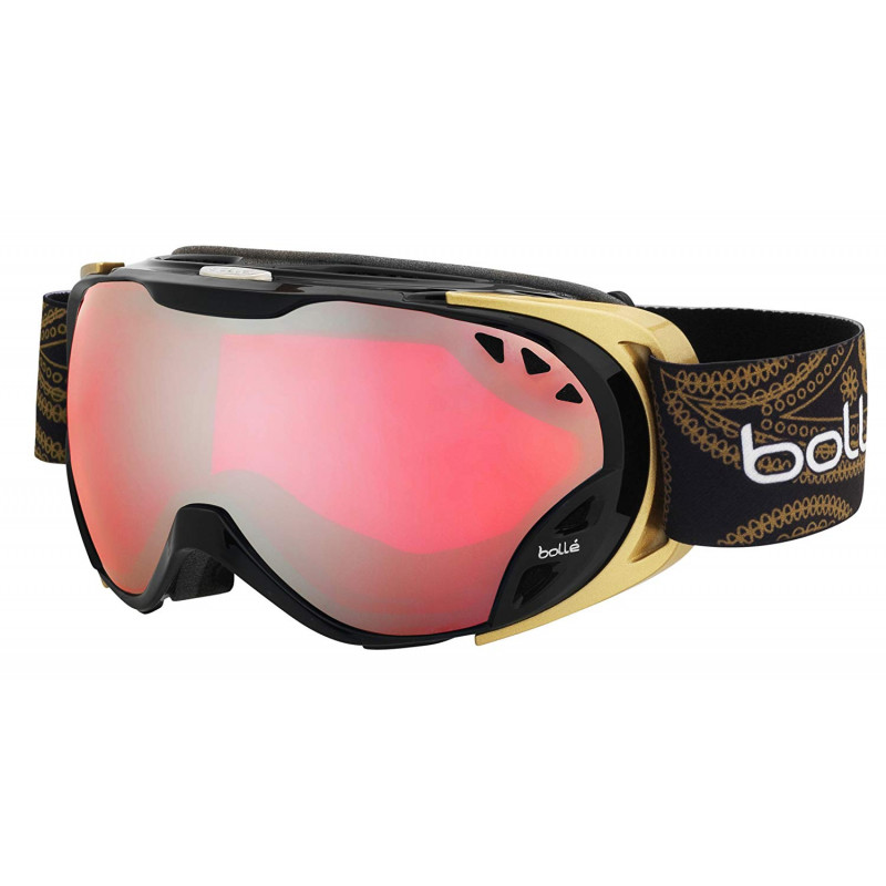 Bolle Duchess shiny black gold vermilion gun