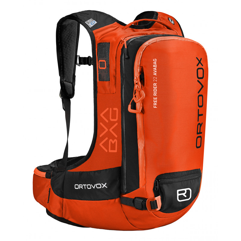 Ortovox Free rider 22 avabag kit crazy orange