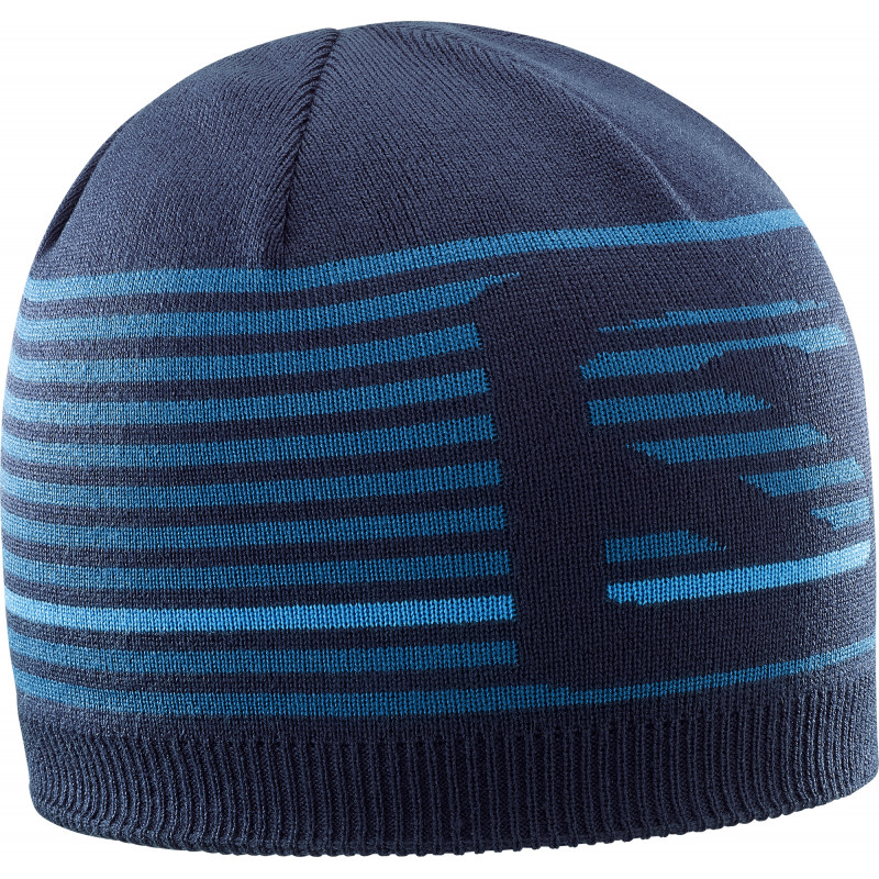 Salomon FLATSPIN SHORT BEANIE NIGHT SKY/M