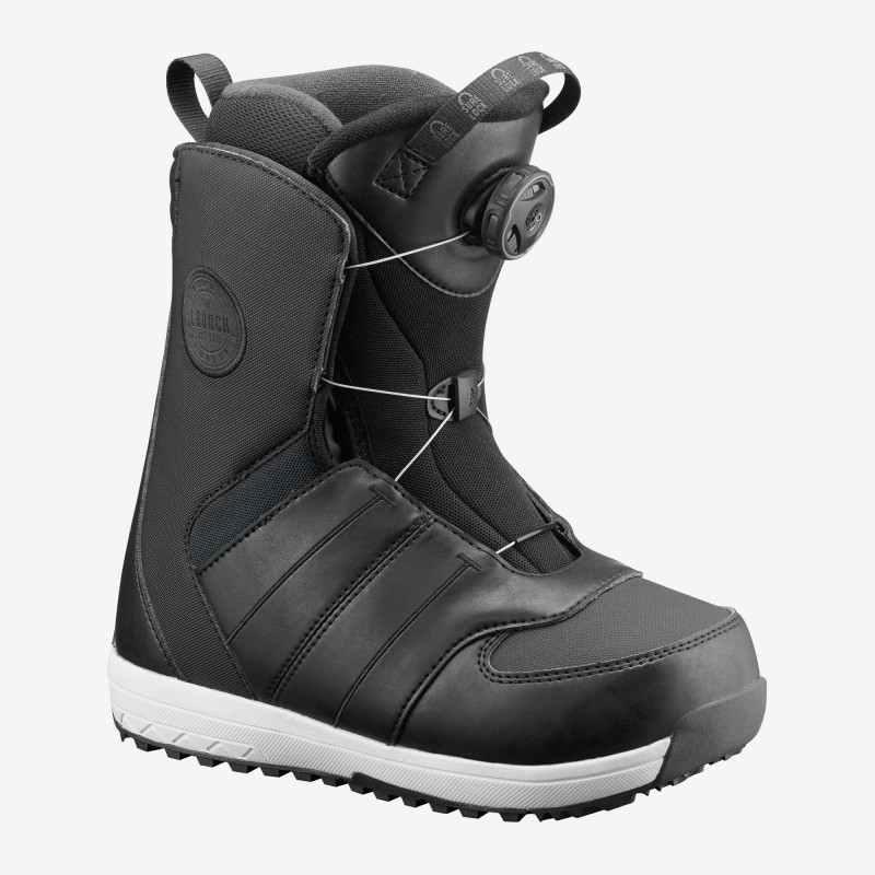 Salomon LAUNCH BOA JR Black