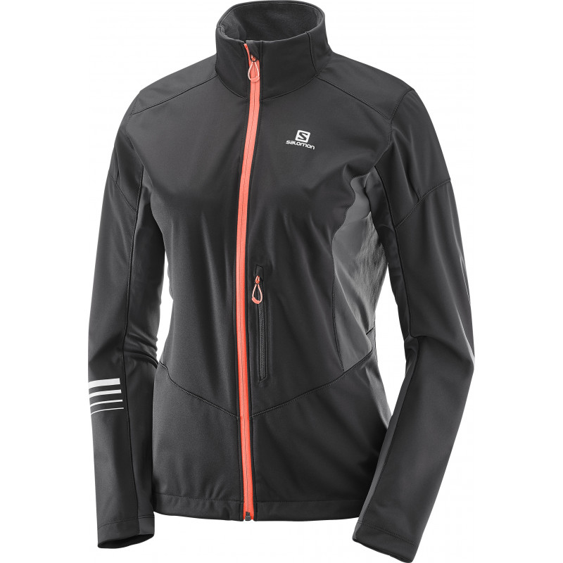 Salomon LIGHTNING SSHELL JKT W Black/Forged Iron