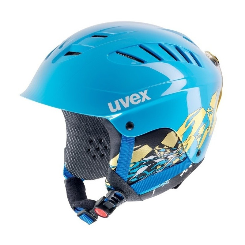 Uvex X-RIDE MOTION JR. Blue/yello